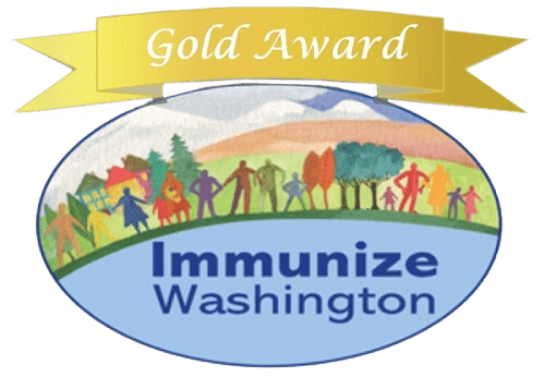 Immunize Washington Gold Award